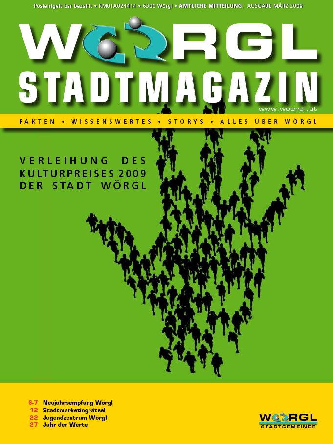 Stadtmagazin März 2009