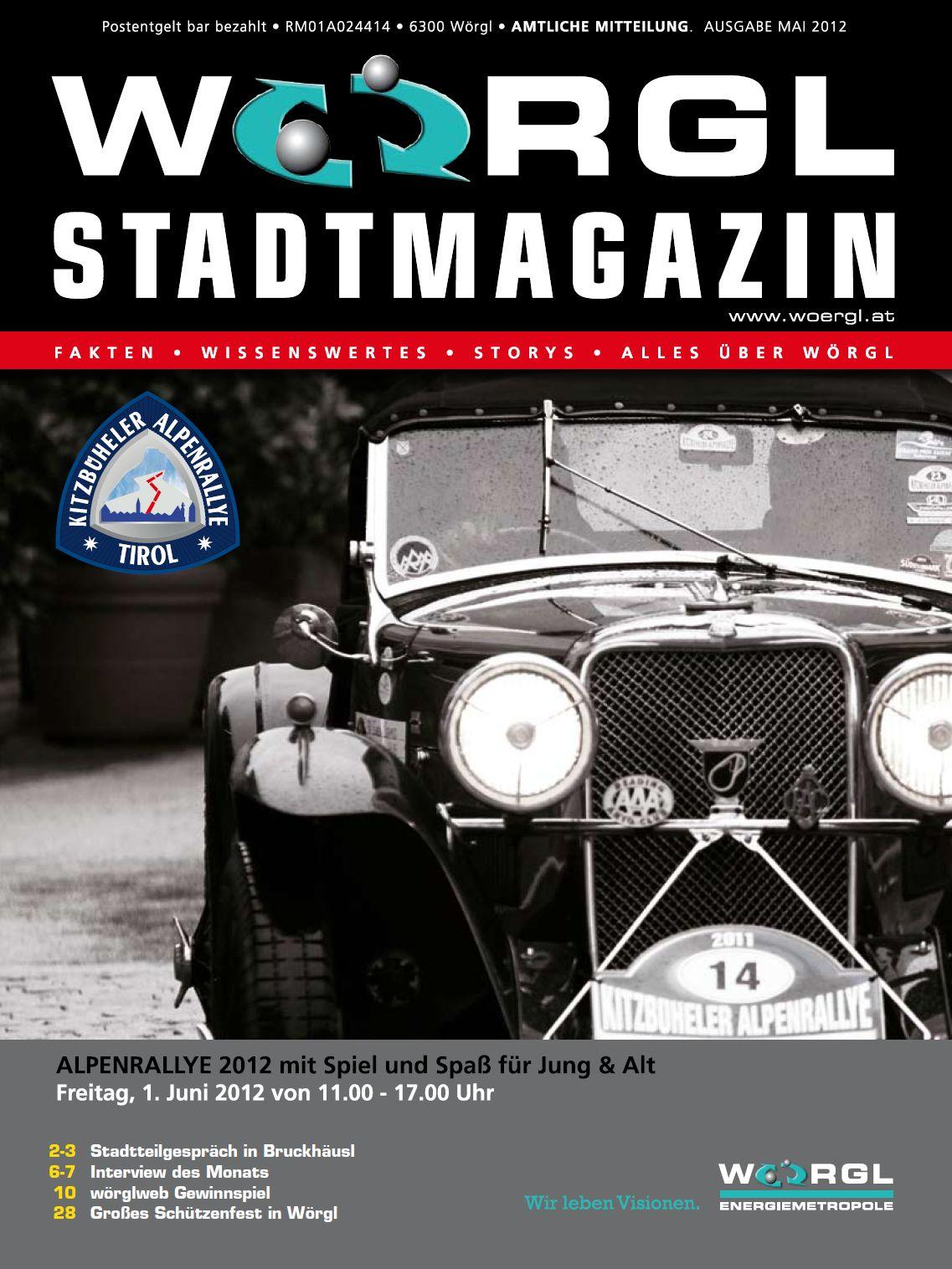 Wörgler Stadtmagazin Mai