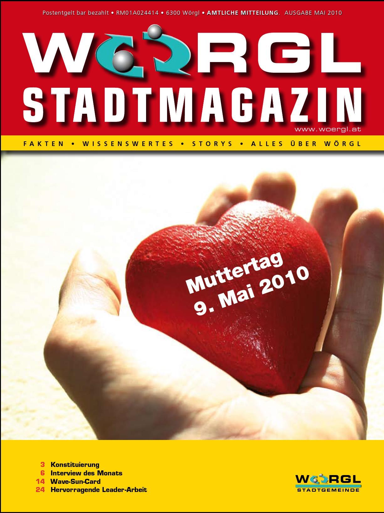 Wörgler Stadtmagazin Mai 2010