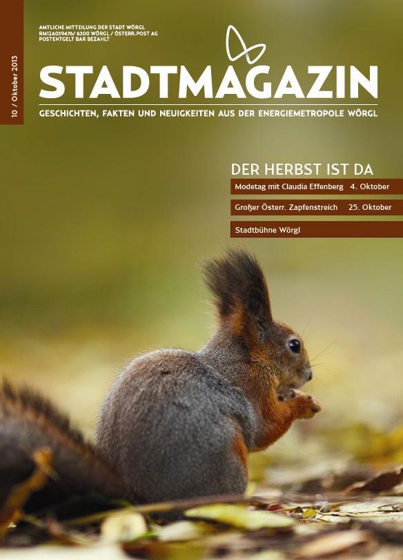 Wörgler Stadtmagazin Oktober