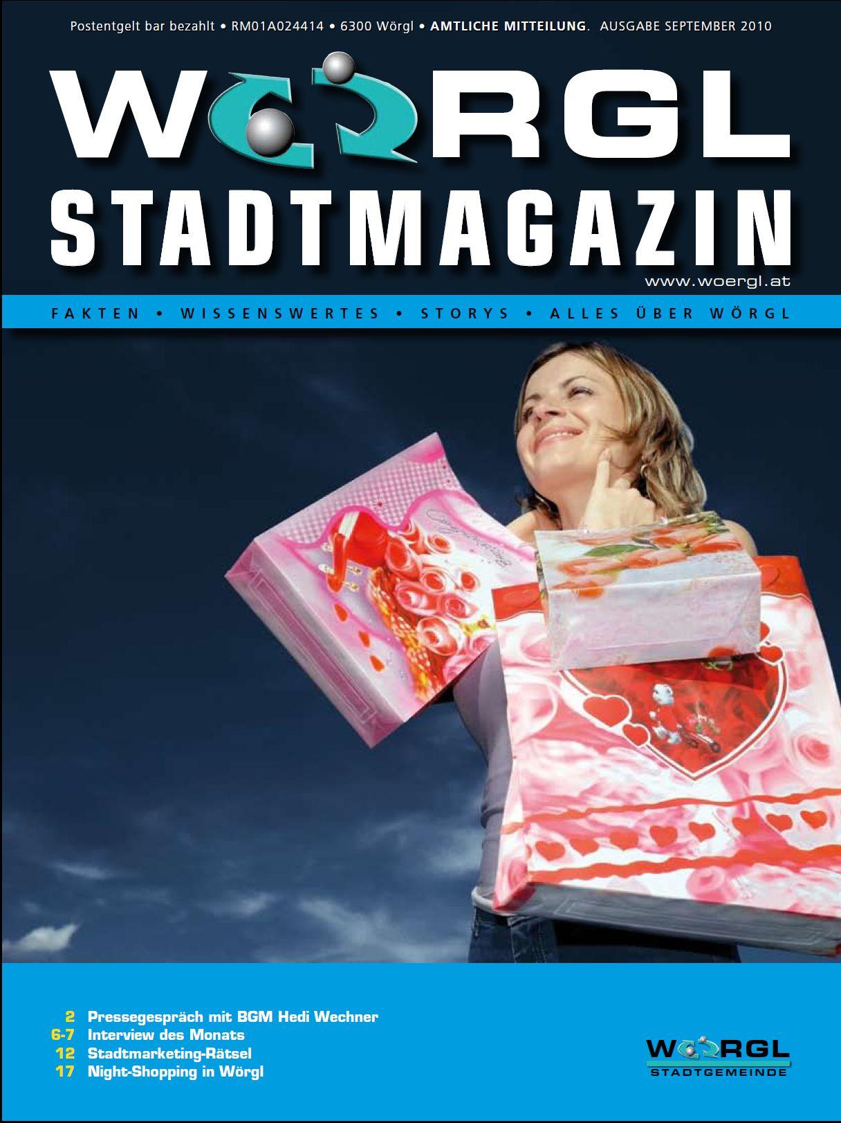 Wörgler Stadtmagazin September 2010