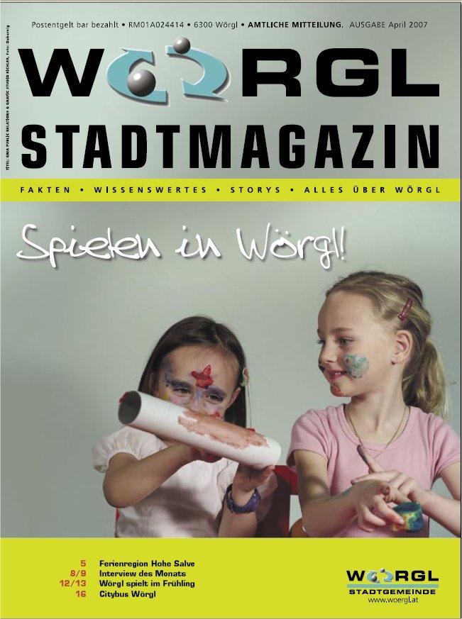 Wörgler Stadtmagazin April 2007
