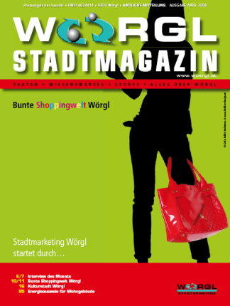 Wörgler Stadtmagazin April 2008