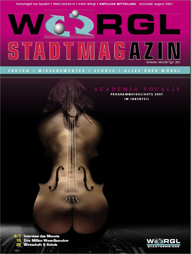 Wörgler Stadtmagazin August 2007