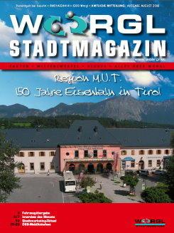 Stadtmagazin August 2008