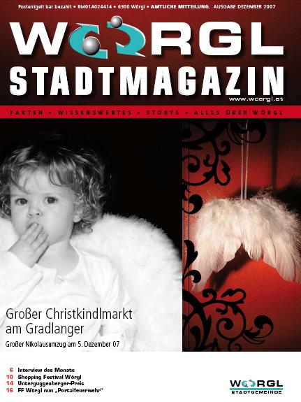 Wörgler Stadtmagazin Dezember 2007