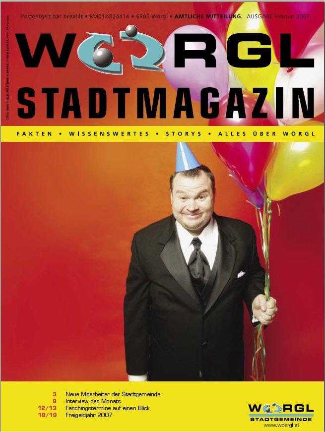 Wörgler Stadtmagazin Februar 2007