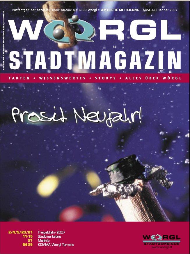 Wörgler Stadtmagazin Jänner 2007