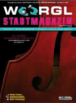 Wörgler Stadtmagazin Juli 2008