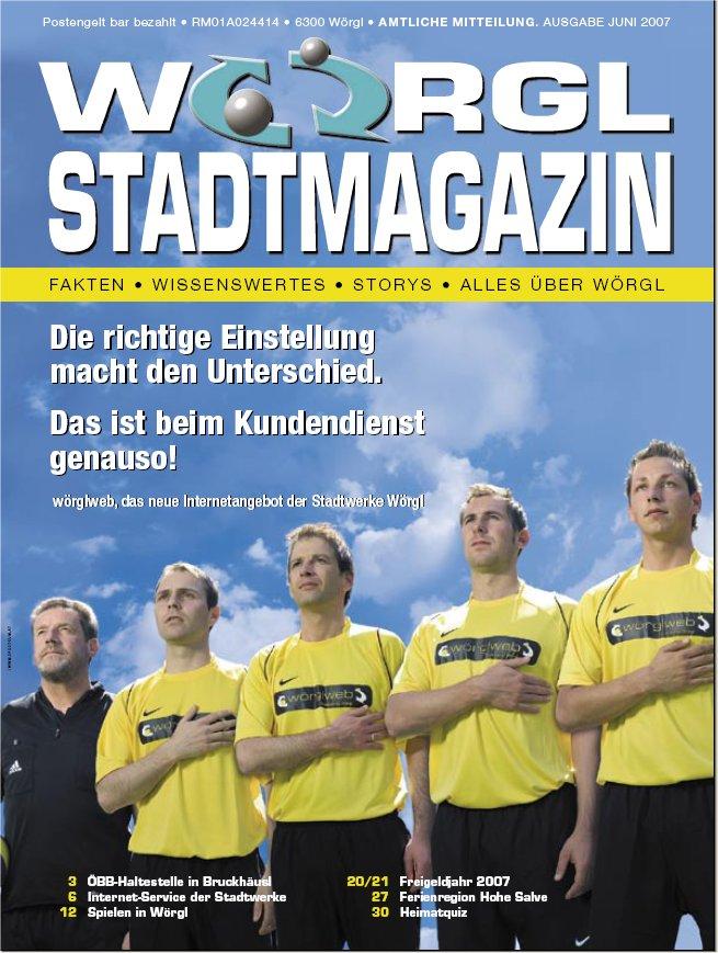 Wörgler Stadtmagazin Juni 2007