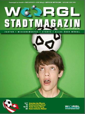 Wörgler Stadtmagazin Juni 2008