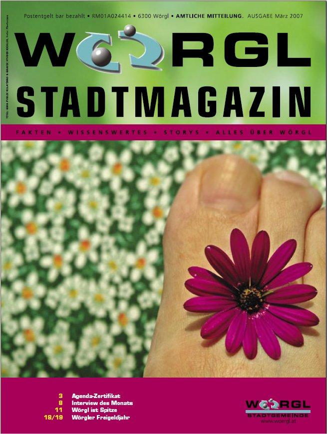 Wörgler Stadtmagazin März 2007