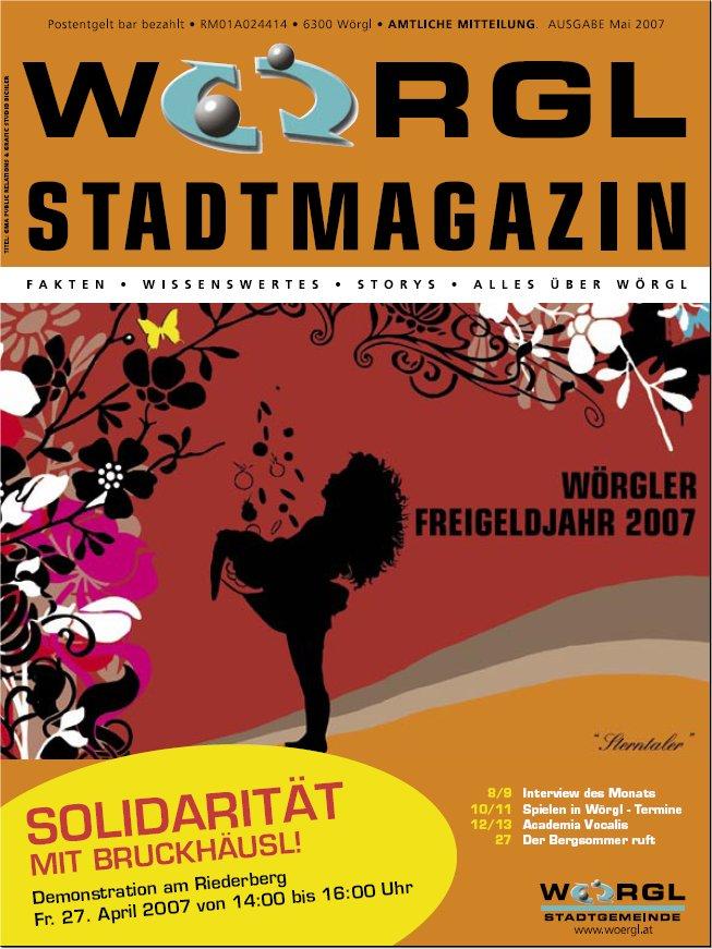 Wörgler Stadtmagazin Mai 2007