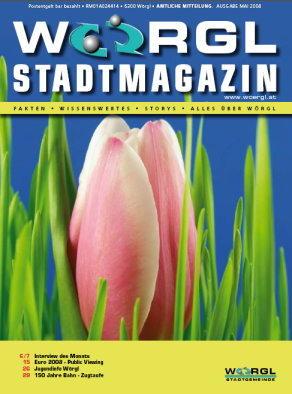 Wörgler Stadtmagazin Mai 2008