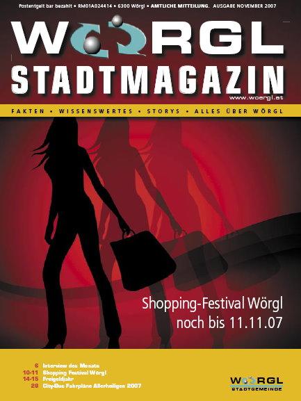 Wörgler Stadtmagazin November 2007