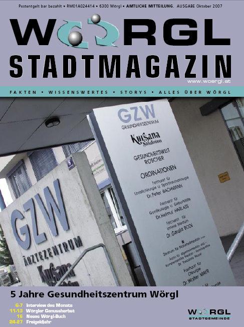 Wörgler Stadtmagazin Oktober 2007