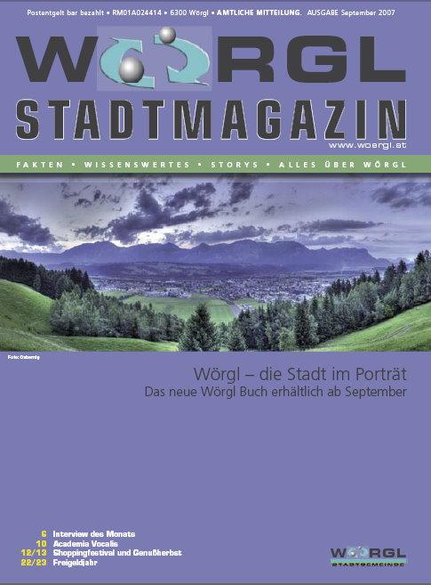 Wörgler Stadtmagazin September 2007