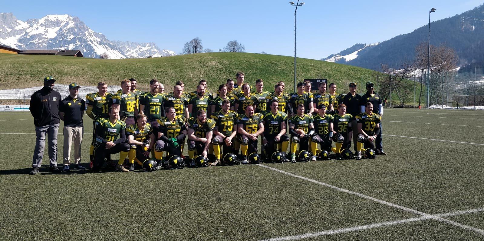 American Football Training Kampfmannschaft