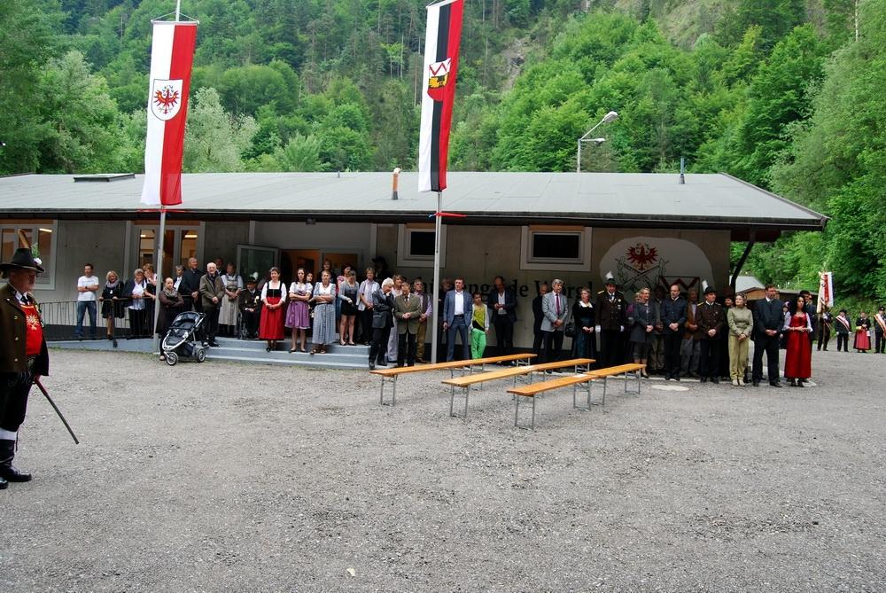 Ehrengäste bei der Eröffnung
